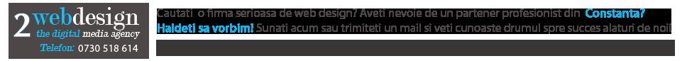Web Design Constanta Promovare site SEO